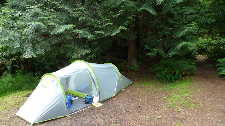 Our little tent.